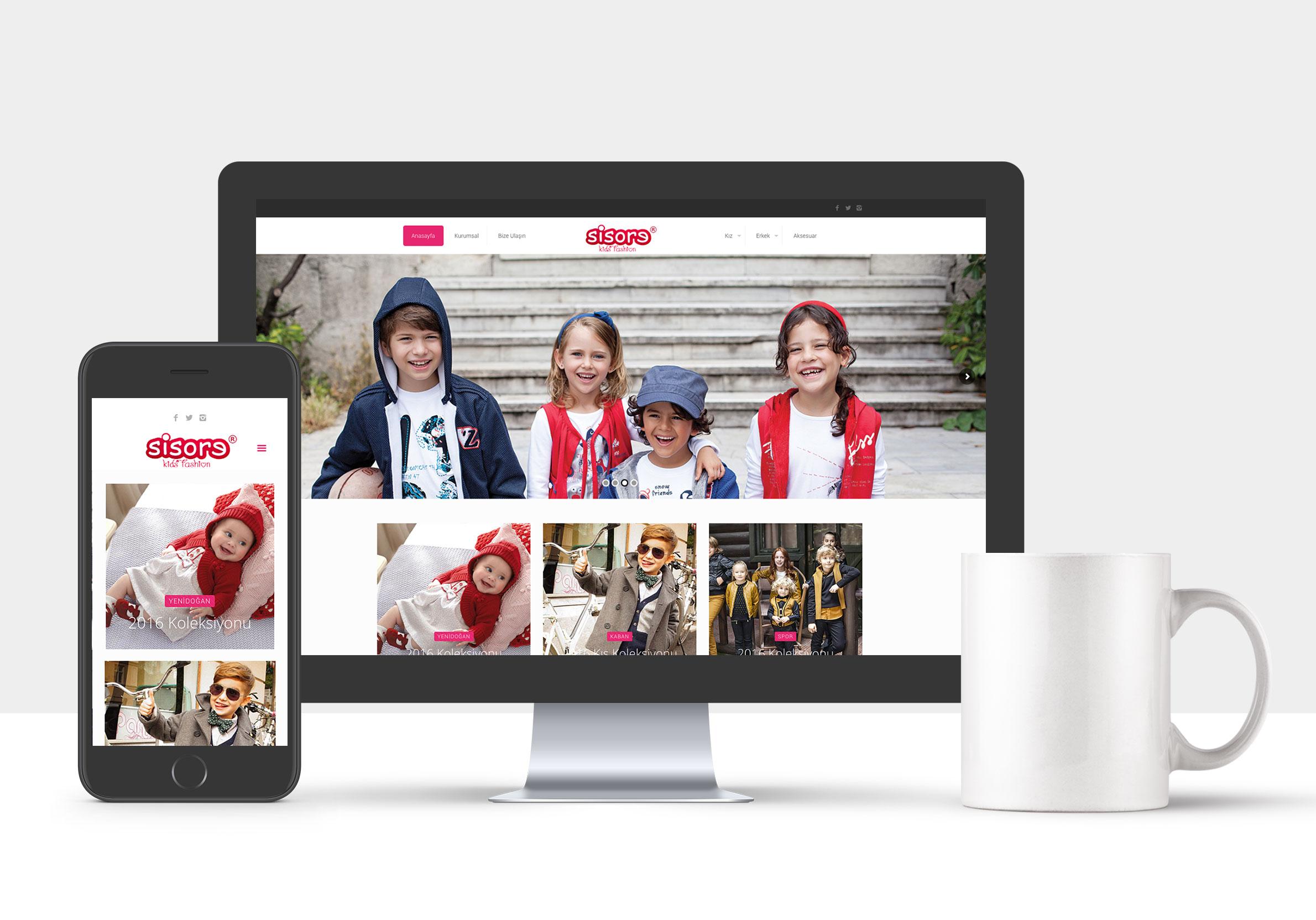 sisore-kids-kurumsal-web-sitesi
